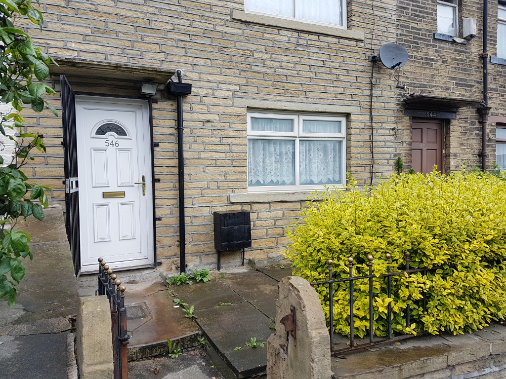 2 BEDROOMS – TERRACE HOUSE, GREAT HORTON ROAD – BD7 3HG
